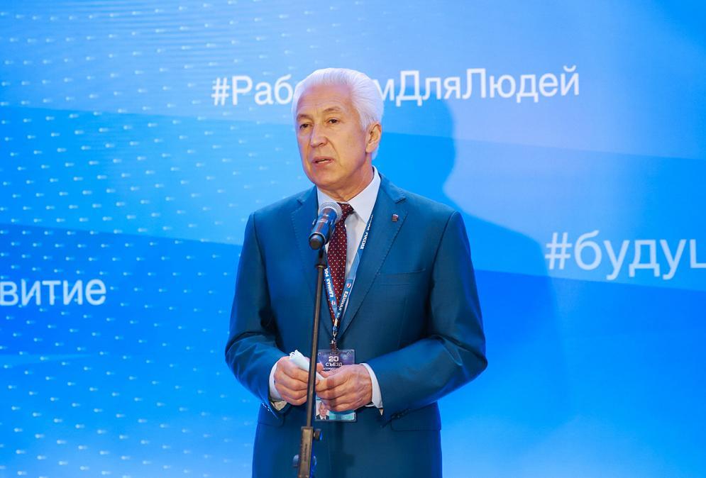 Владимир Васильев: «Оказанное мне доверие рассматриваю как огромную ответственность перед жителями»