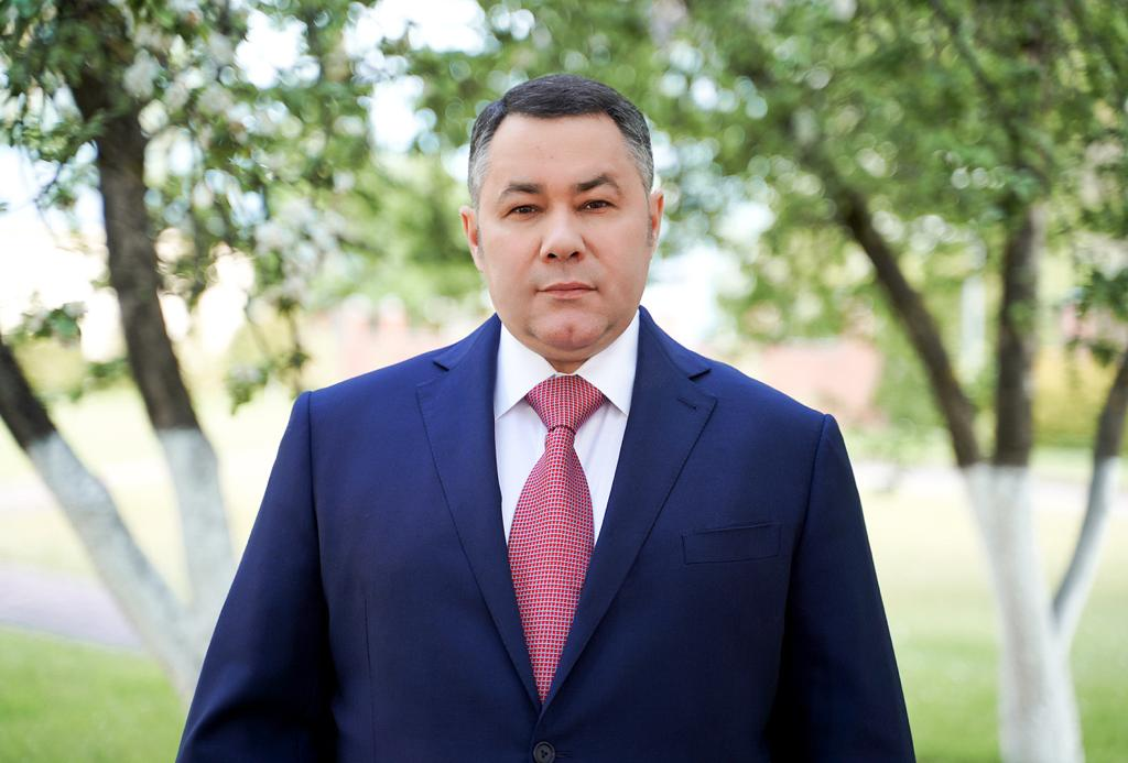 Губернатор Игорь Руденя поздравил выпускников школ Тверской области