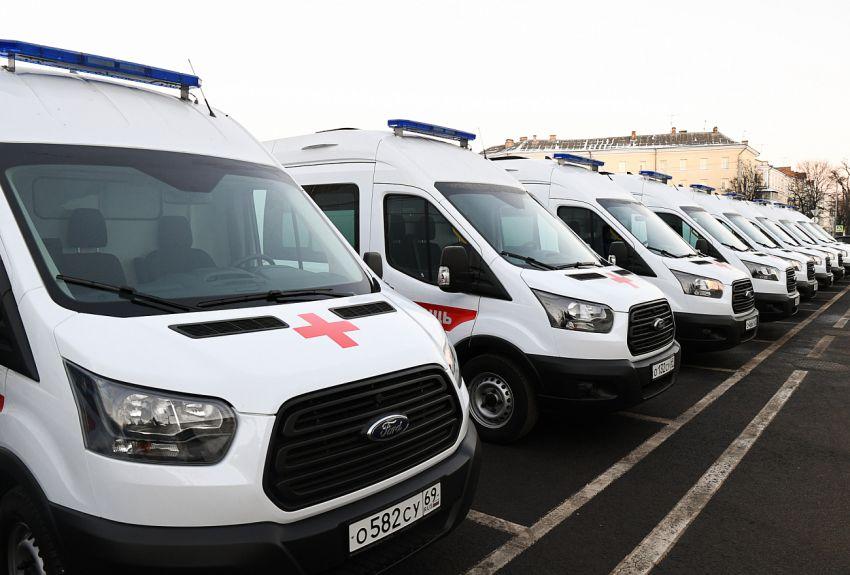 В Тверской области следят за каждой машиной скорой помощи