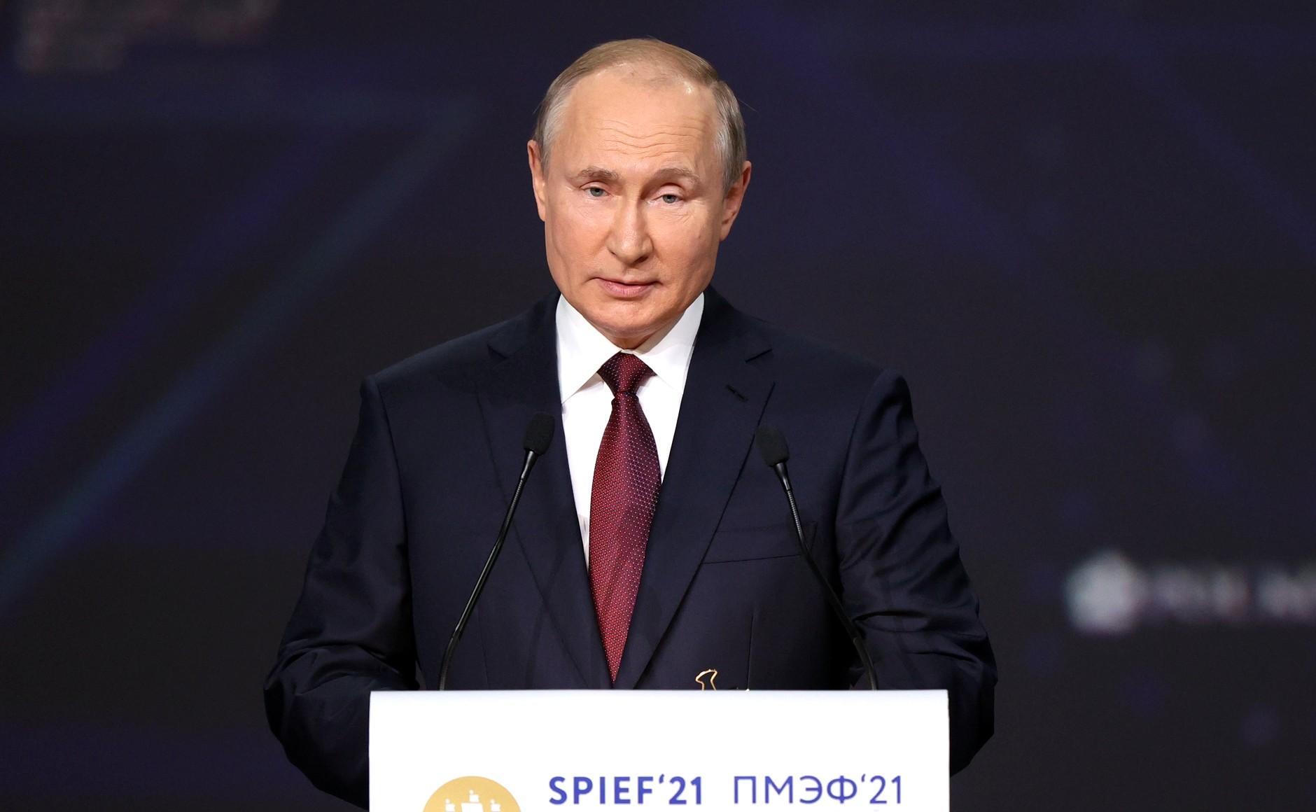 ПМЭФ-21: Игорь Руденя принял участие в пленарном заседании форума