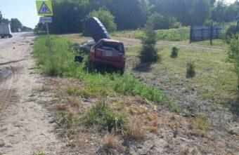 Появилось фото с места ДТП в Тверской области с четырьмя пострадавшими