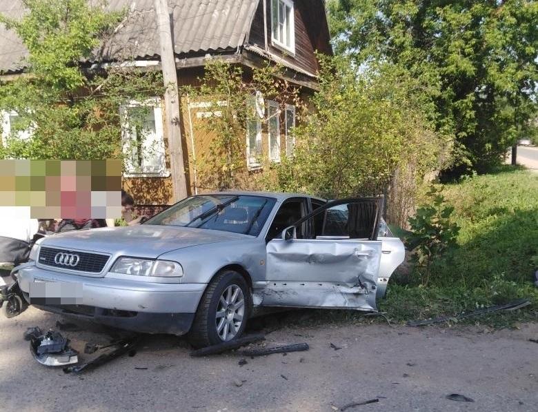 6-месячный мальчик пострадал в столкновении двух иномарок в Тверской области