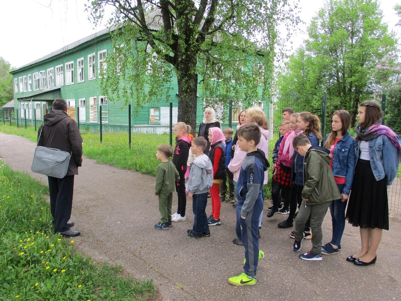 Воспитанники Воскресной школы из Западной Двины посетили андреапольский музей