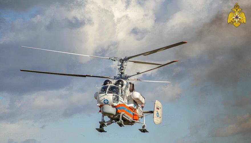 В Тверской области пациента срочно эвакуировали вертолётом