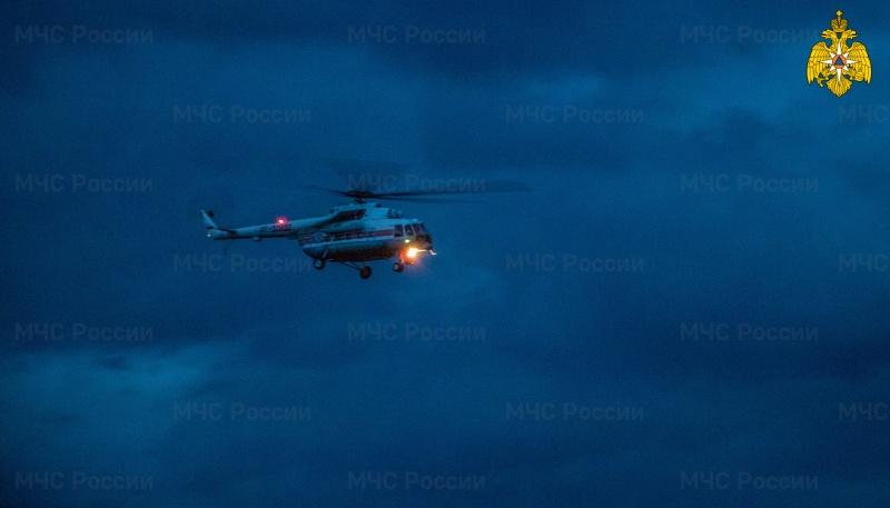 Санитарный вертолёт Тверской области совершил экстренный ночной вылет