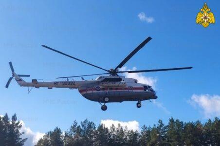 Пациента в тяжёлом состоянии экстренно доставили в Тверь на вертолёте