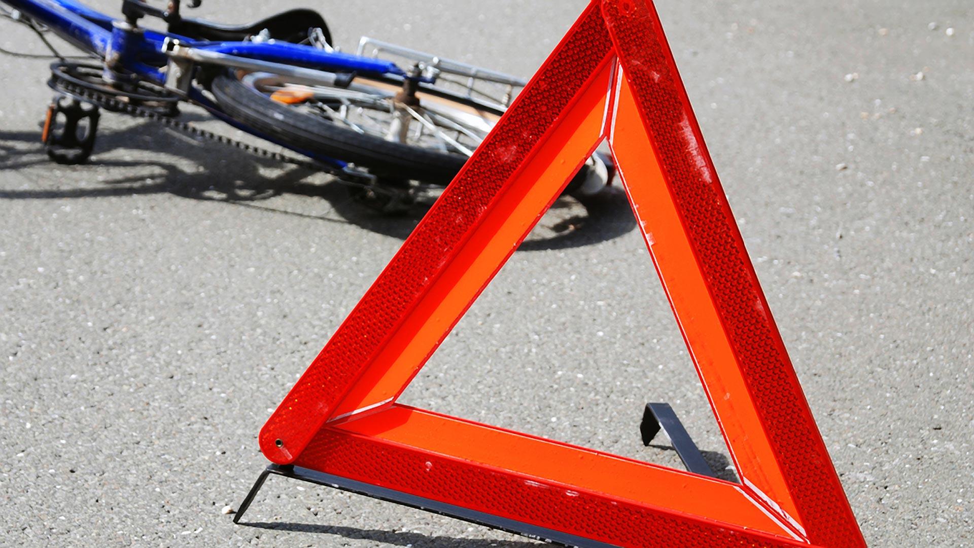 В центре Твери иномарка сбила 11-летнего мальчика на велосипеде