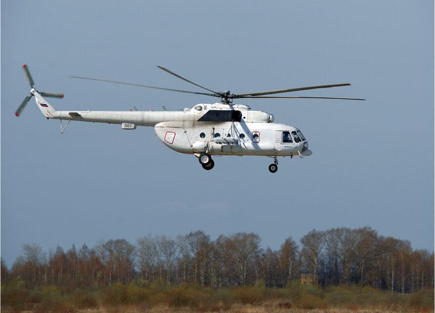 Новый вертолет летит в Тверь