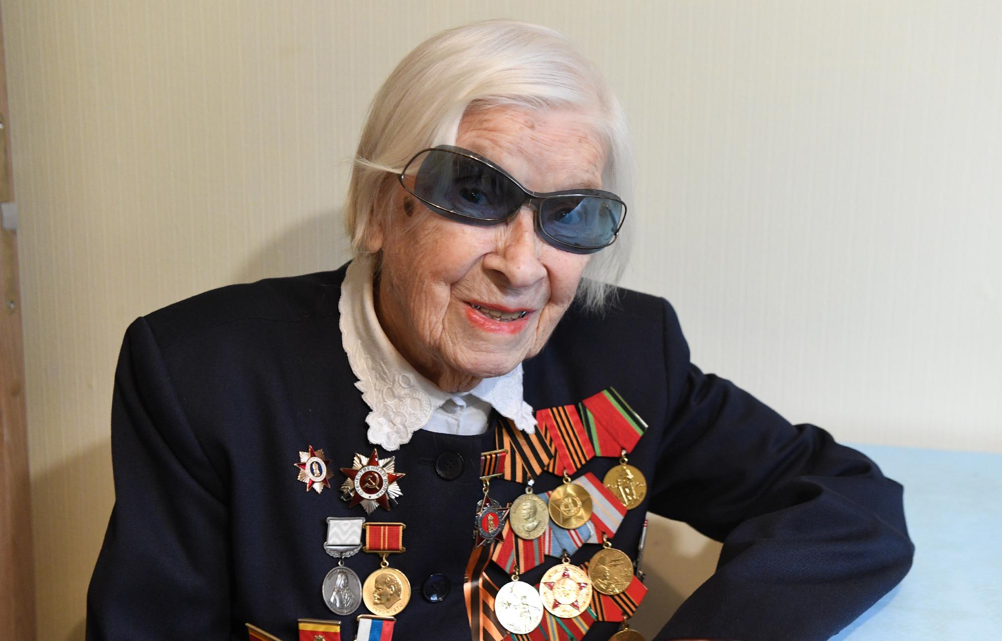 96 лет исполнилось участнице Великой Отечественной войны Марии Потаповой из Тверской области