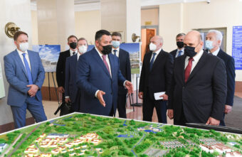 Игорь Руденя отмечен в рейтинге «Губернаторская повестка» по итогам поездки премьера в Тверскую область