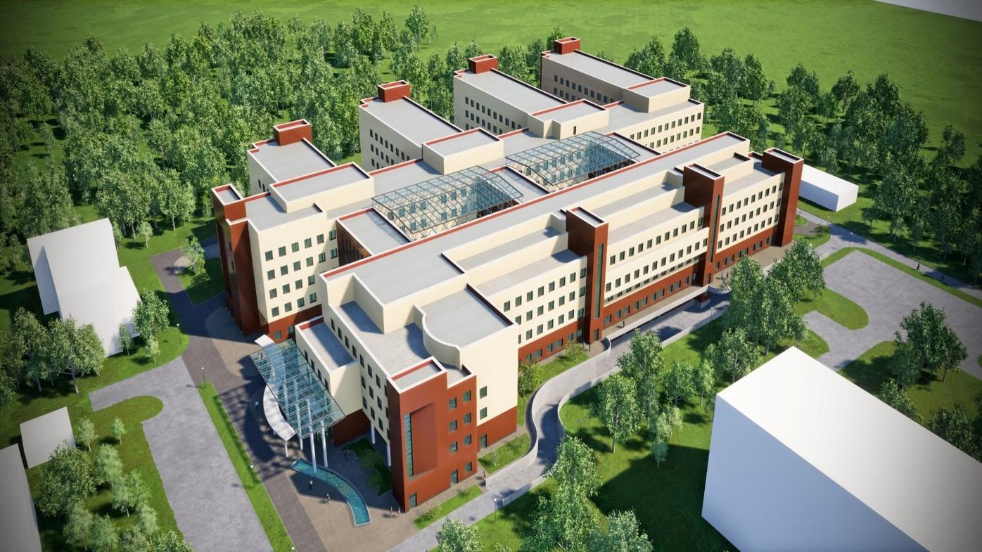 В Твери ускорят строительство Детской областной клинической больницы