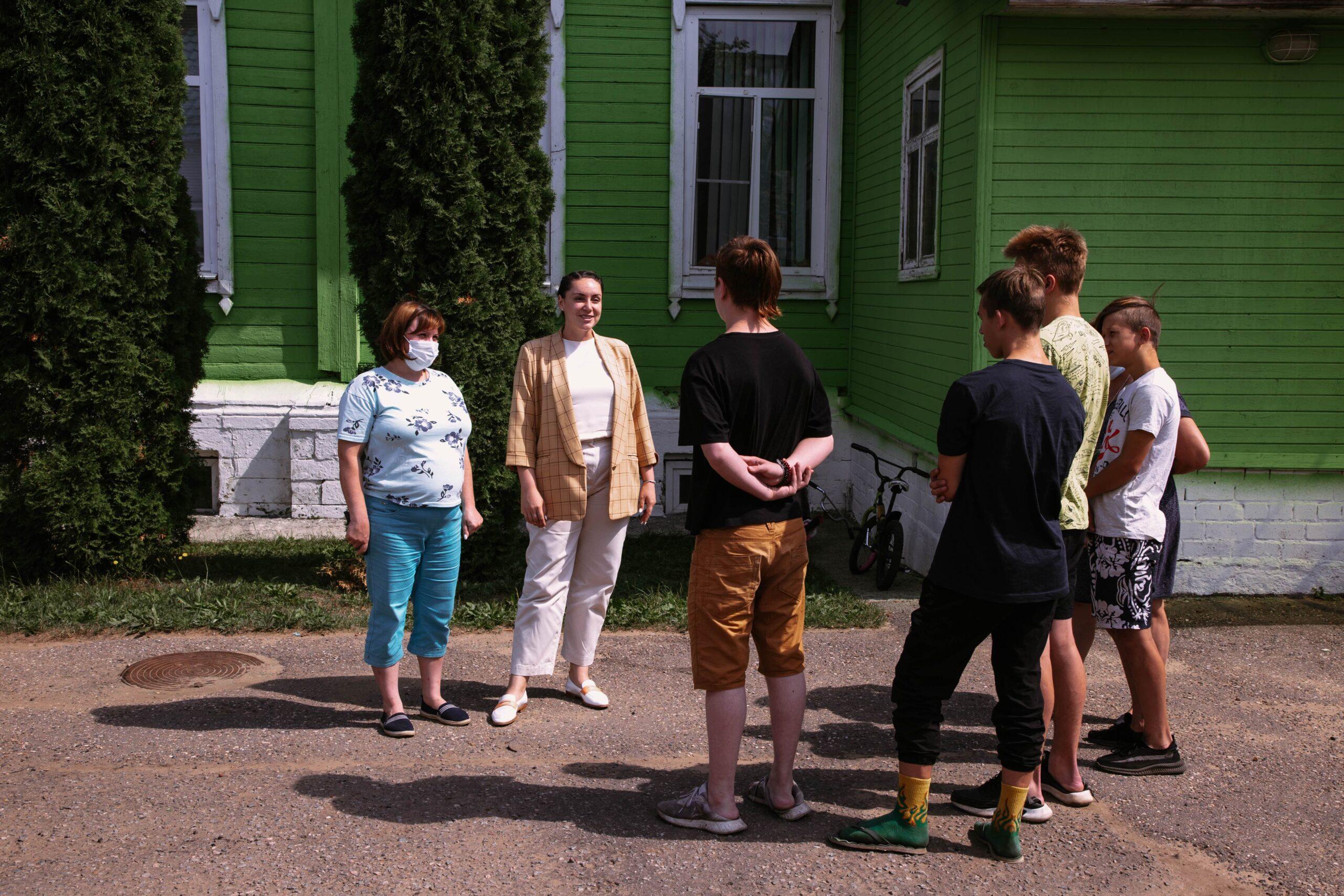 «МыВместе» в Калязине: Юлия Саранова посетила муниципалитет и анонсировала открытие добровольческого центра
