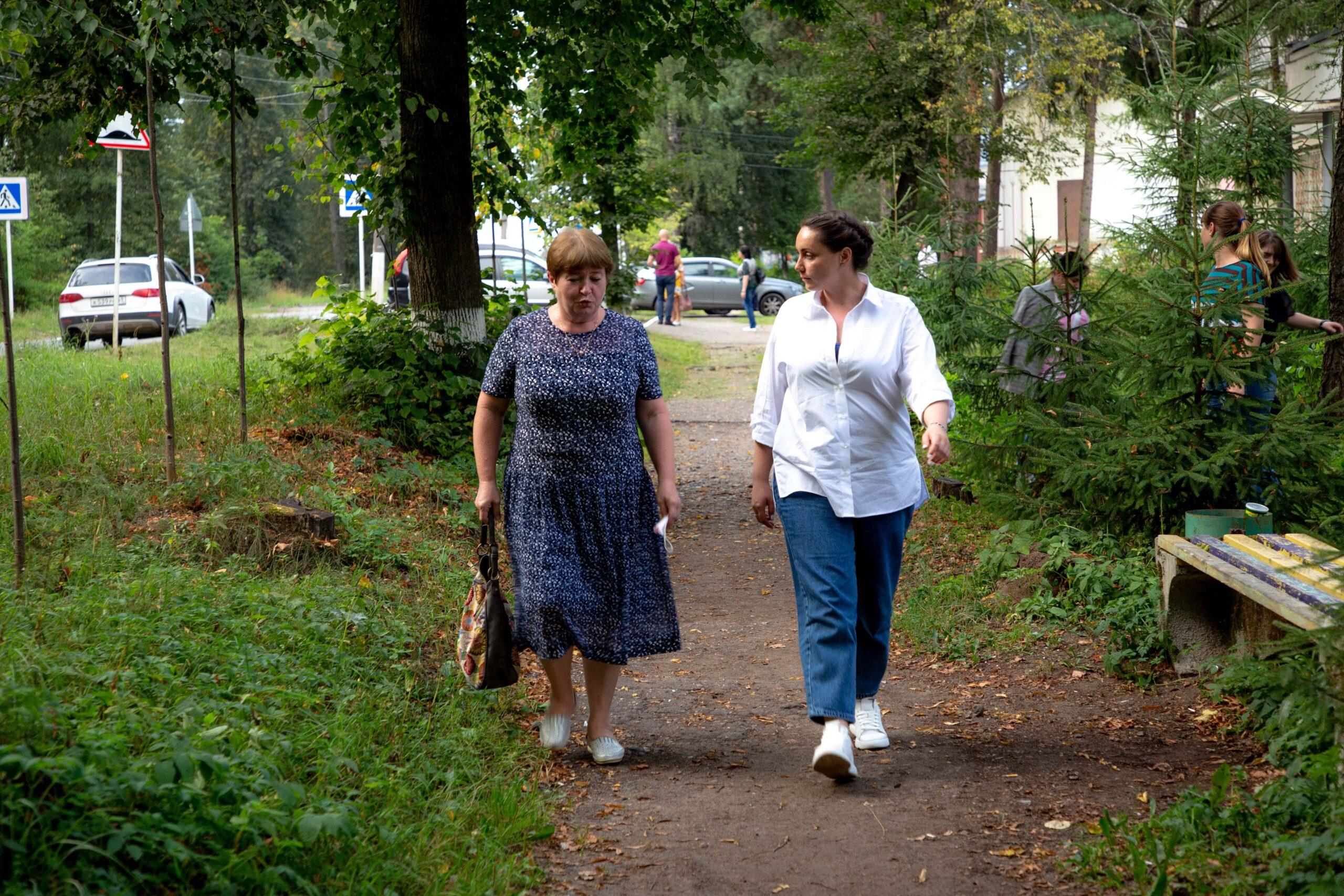 Юлия Саранова встретила единомышленников в Конаковском районе