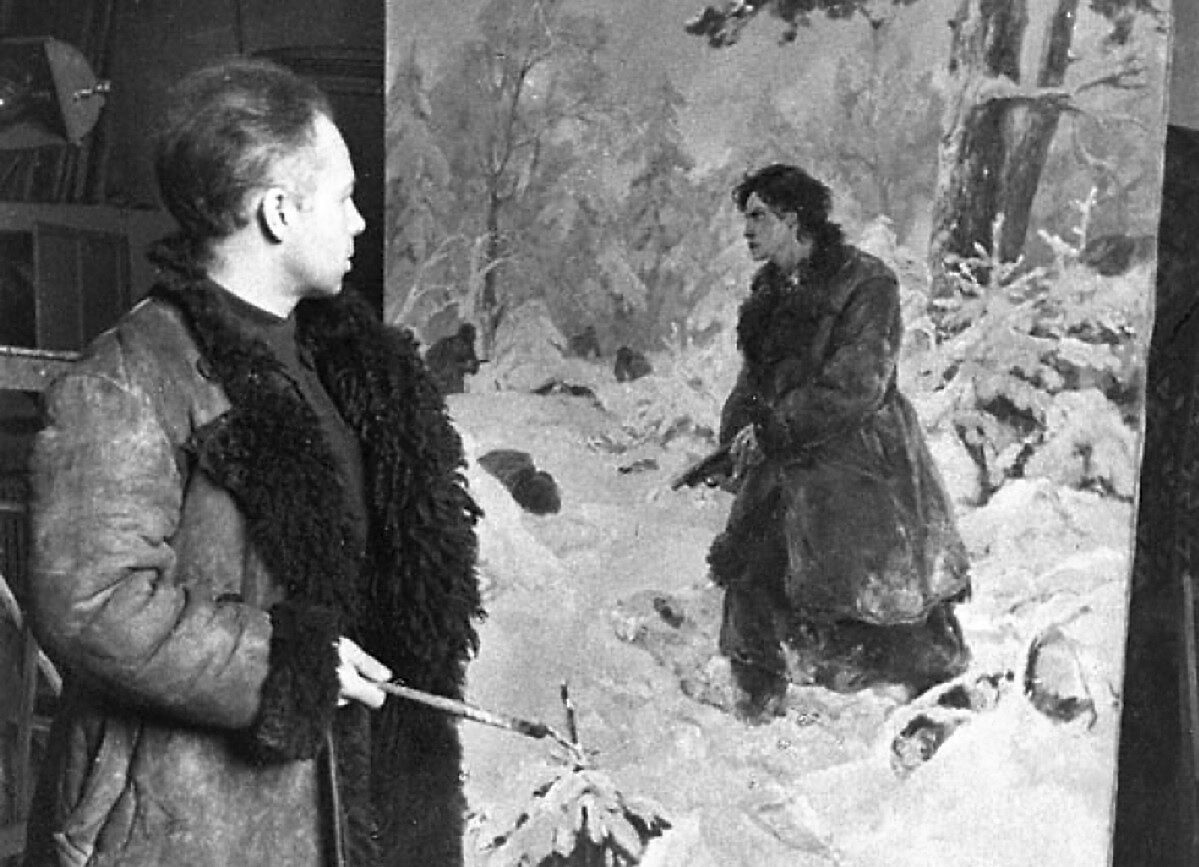 Под Тверью покажут редчайшие картины Владимира Серова
