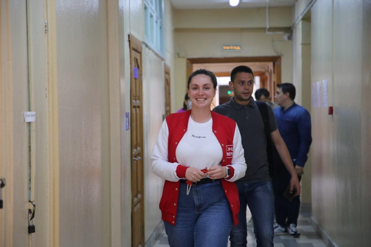 Юлия Саранова укрепляет сотрудничество добровольцев со спасателями