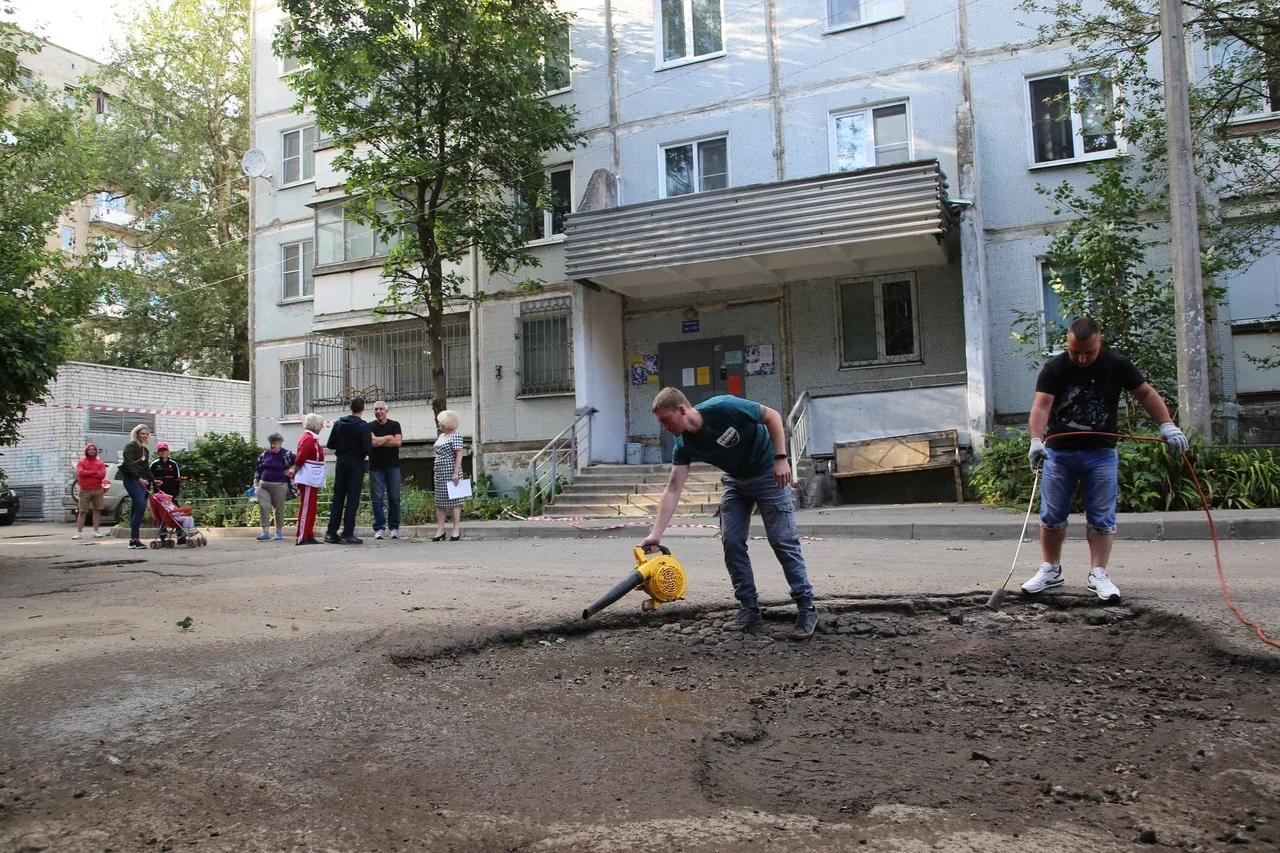 Проект #Ямамнет помогает решать дорожную проблему во дворах Твери