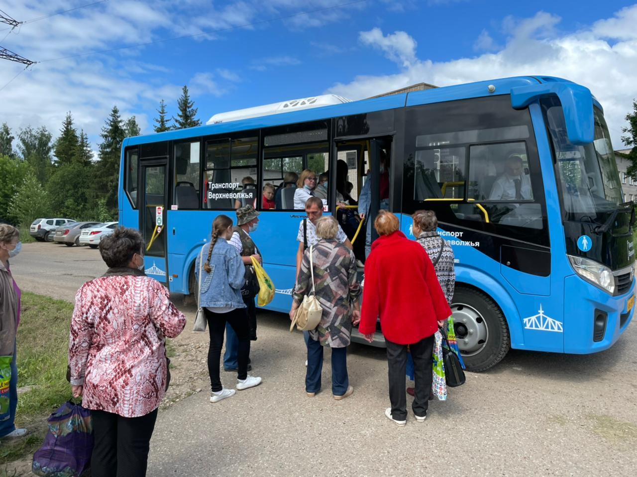 Удобство новых автобусов отметили жители Кимрской, Ржевской, Зубцовской и Старицкой агломераций