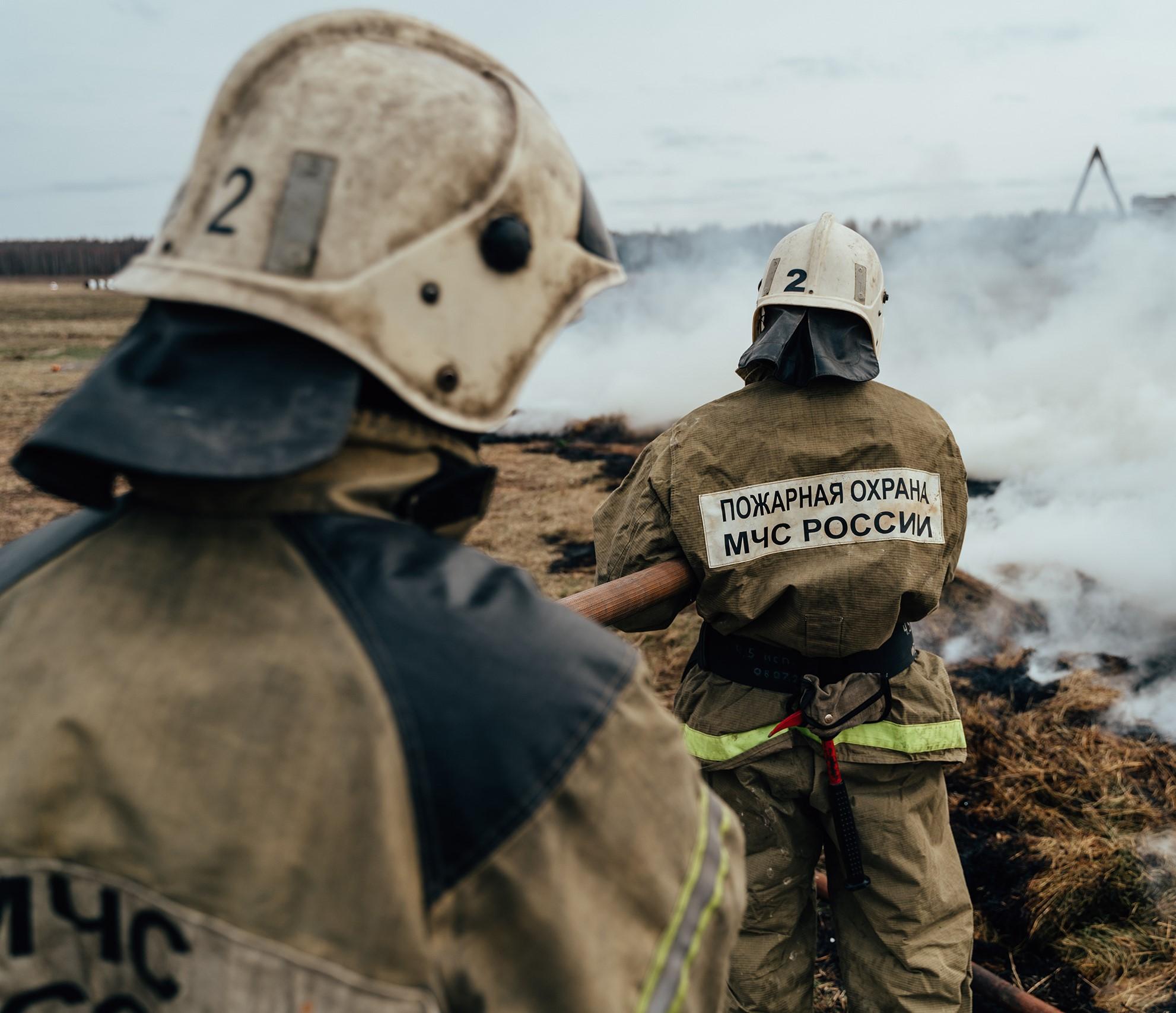 Лесной пожар в Калининском районе Тверской области потушен