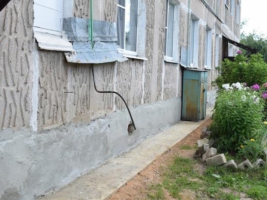 В поселке Оленино Тверской области завершен ремонт дома
