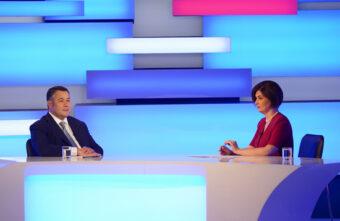 Газификация, вакцинация, дороги: Игорь Руденя ответил на вопросы зрителей в прямом эфире