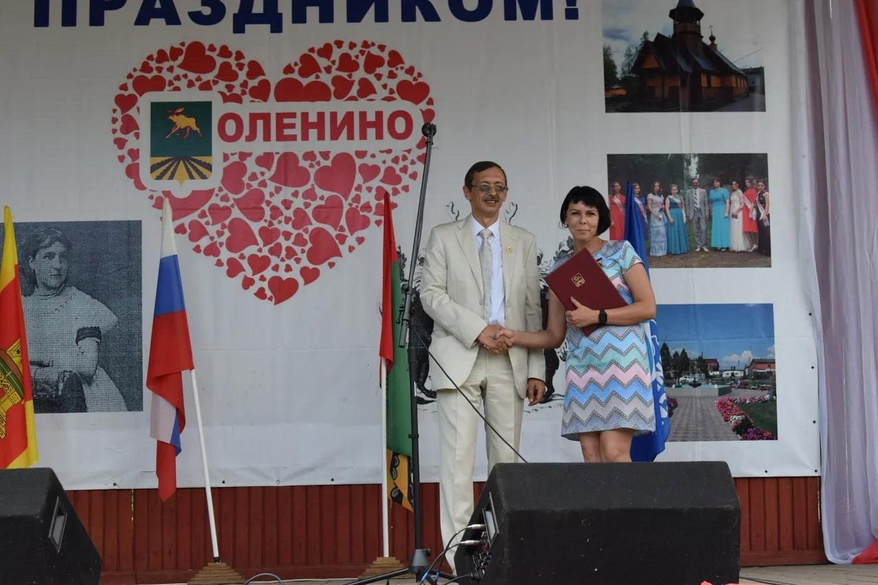 Фельдшер «скорой» из Тверской области получила знак «За заслуги перед Оленинским округом»