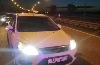 На трассе в Тверской области остановили угнанный Ford