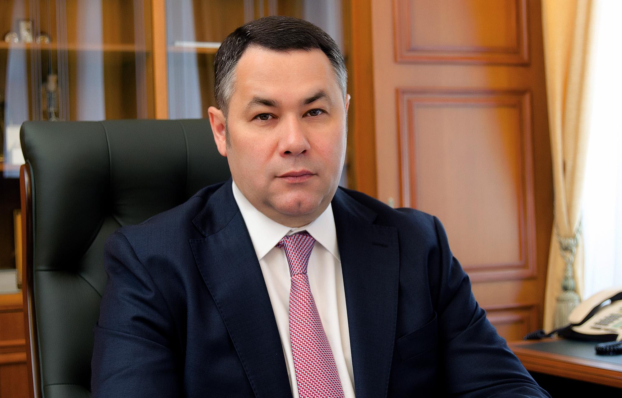 Игорь Руденя вошел в рейтинг «Губернаторская повестка» с заявлением об отсутствии ограничений для экономики Тверской области