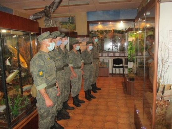 Андреапольские военнослужащие посетили музей