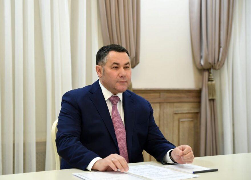 Игорь Руденя направил поздравительную телеграмму председателю Тверского областного суда