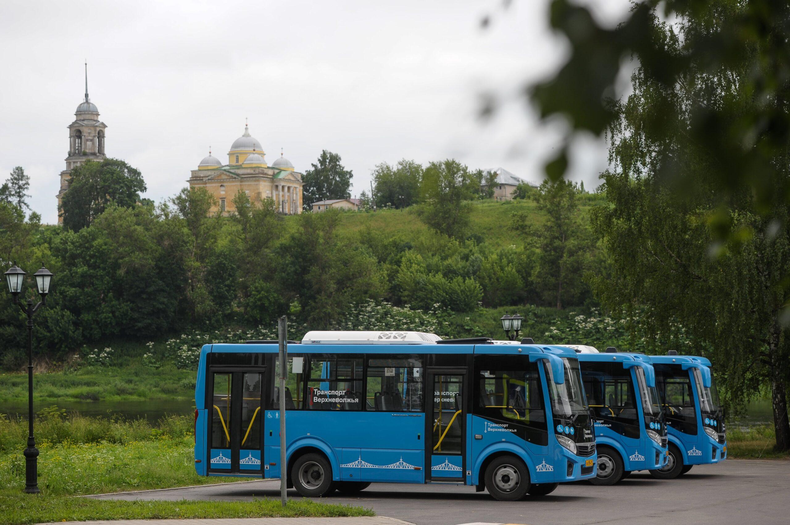 За две недели на новых автобусах в районах Тверской области проехали 270 тысяч раз