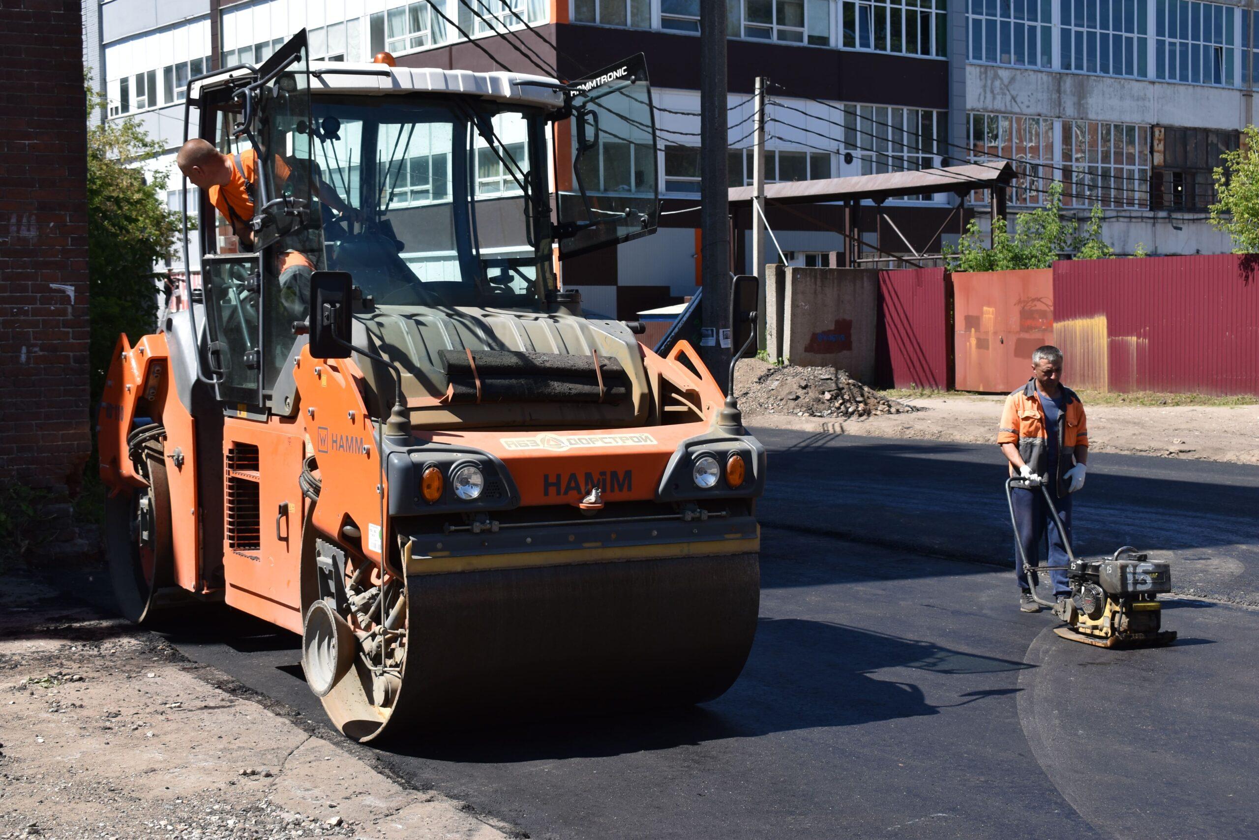 В Твери по отдельному контракту отремонтируют ещё четыре участка дорог