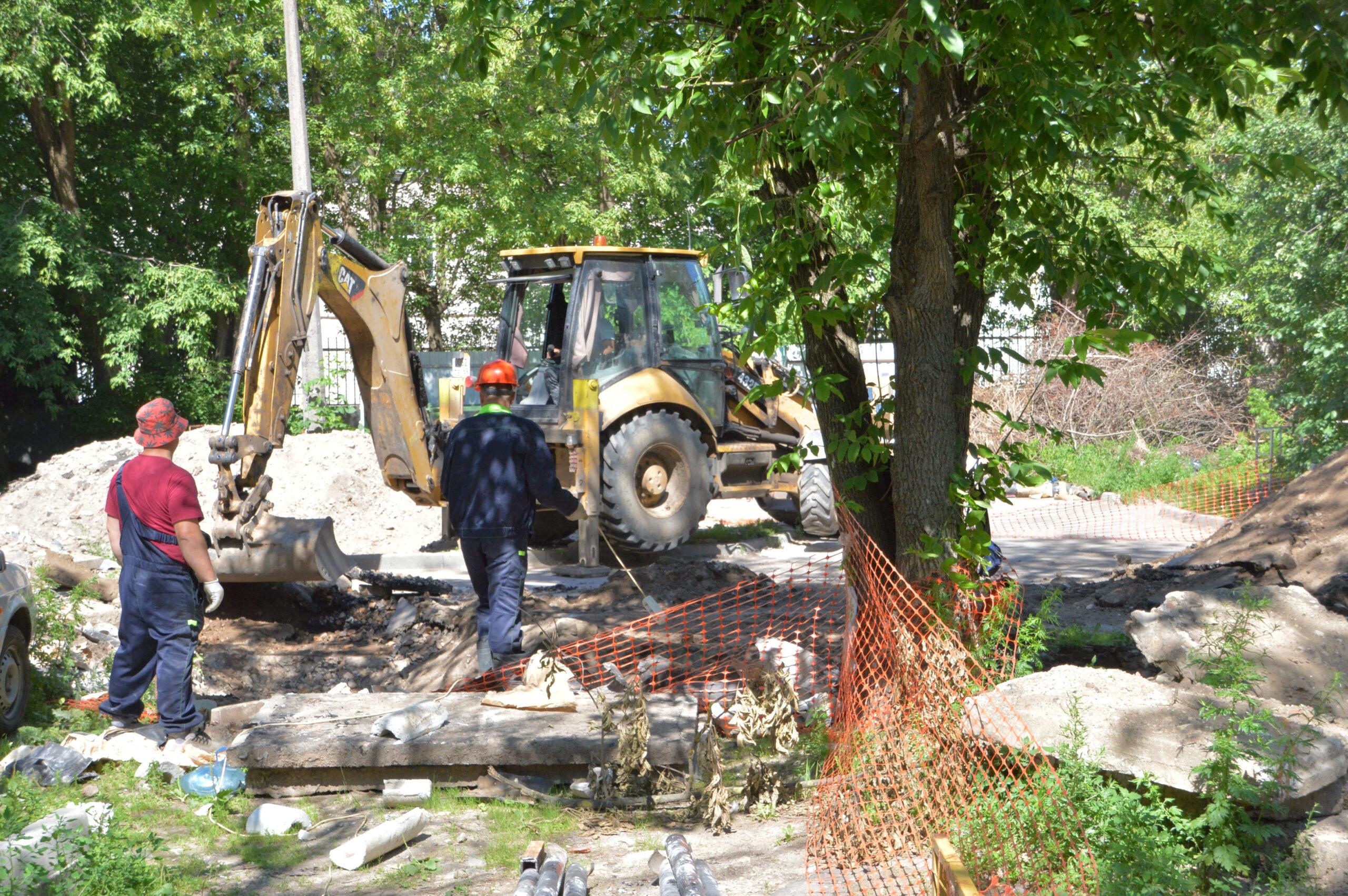 Из-за ремонта теплотрасс ограничений для движения транспорта в Твери нет