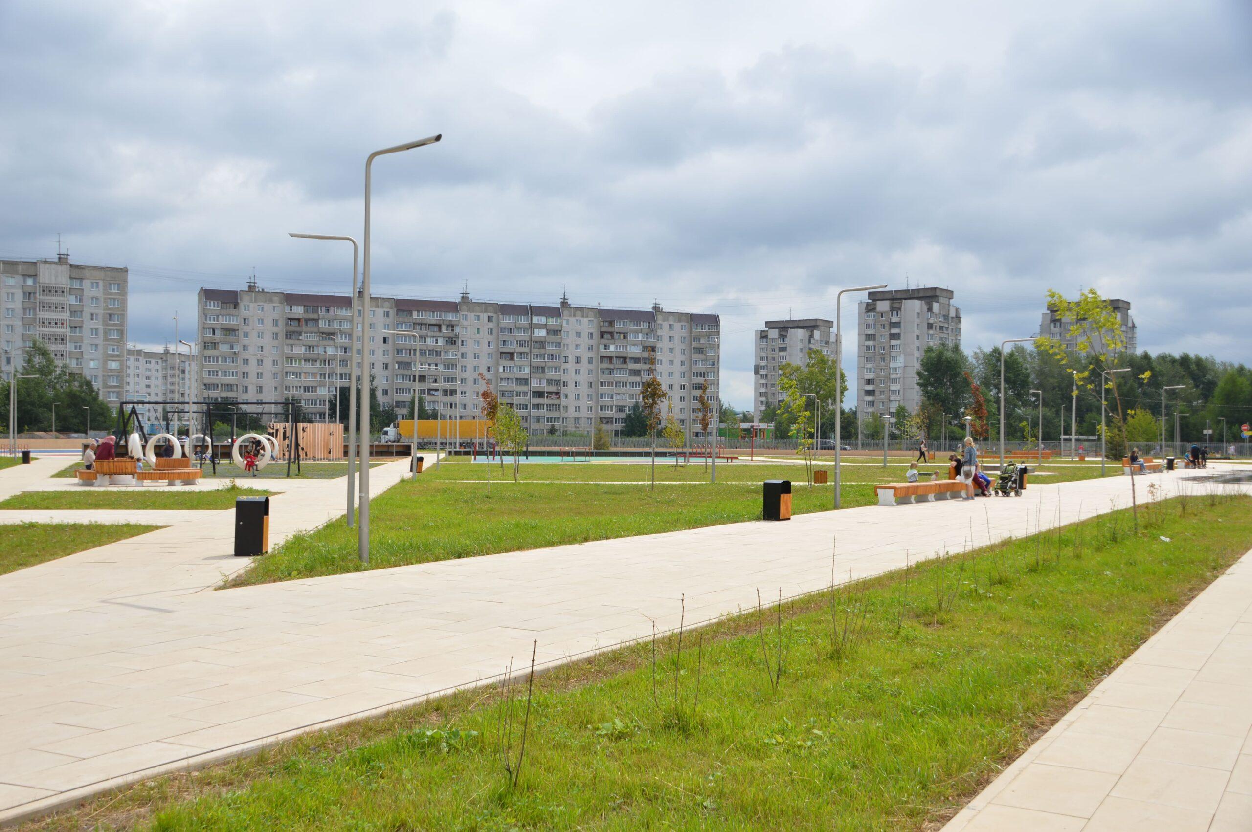 Набережная, сквер, детский сад: в Твери продолжается работа по нацпроектам