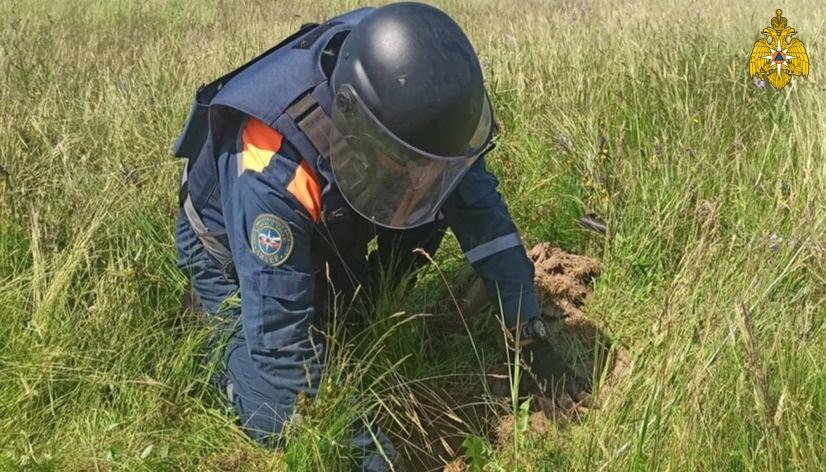 Ежедневно в Тверской области находят больше 50 гранат и снарядов