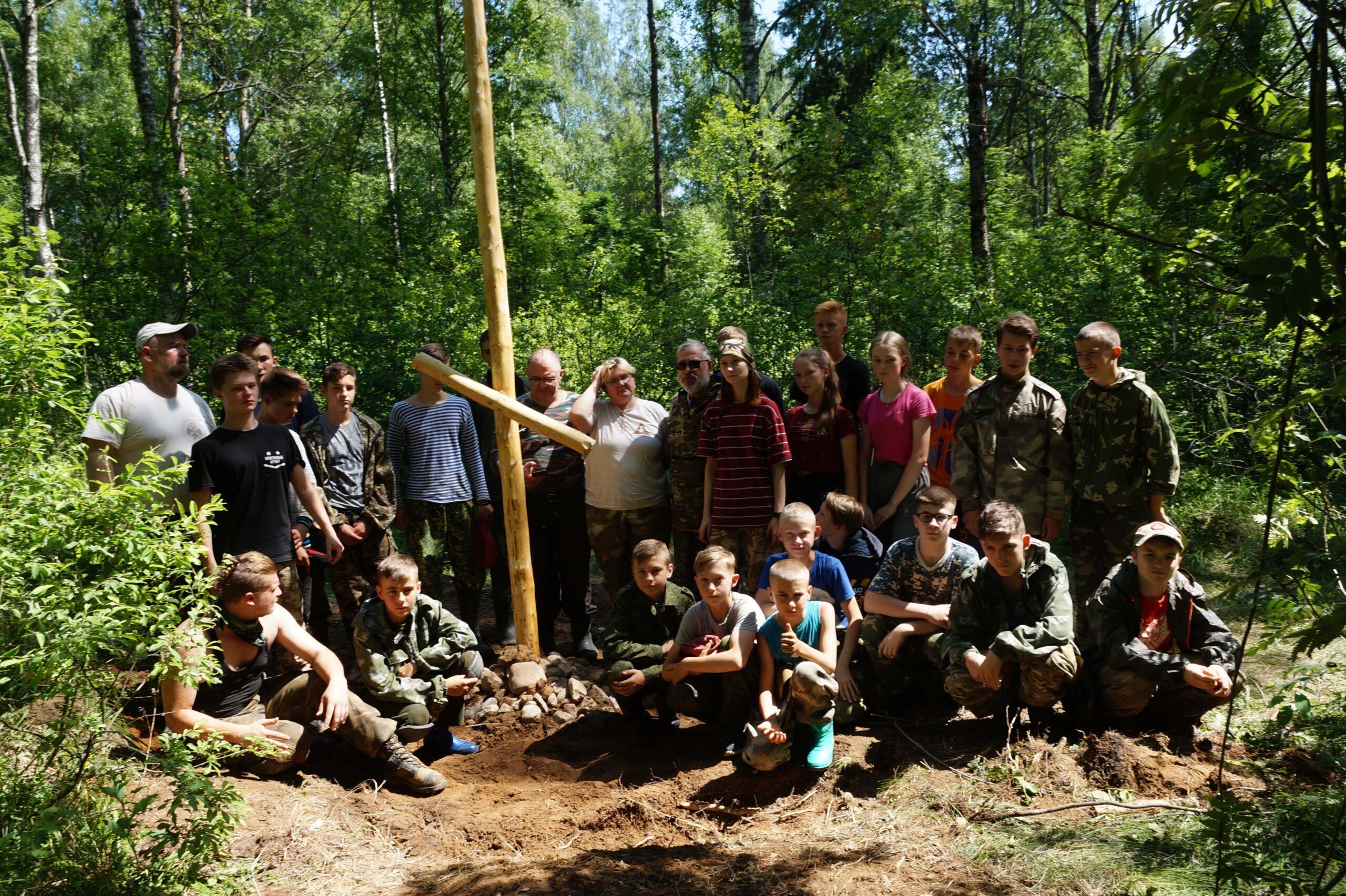 В Тверской области школьники помогли поднять останки 6 защитников Отечества