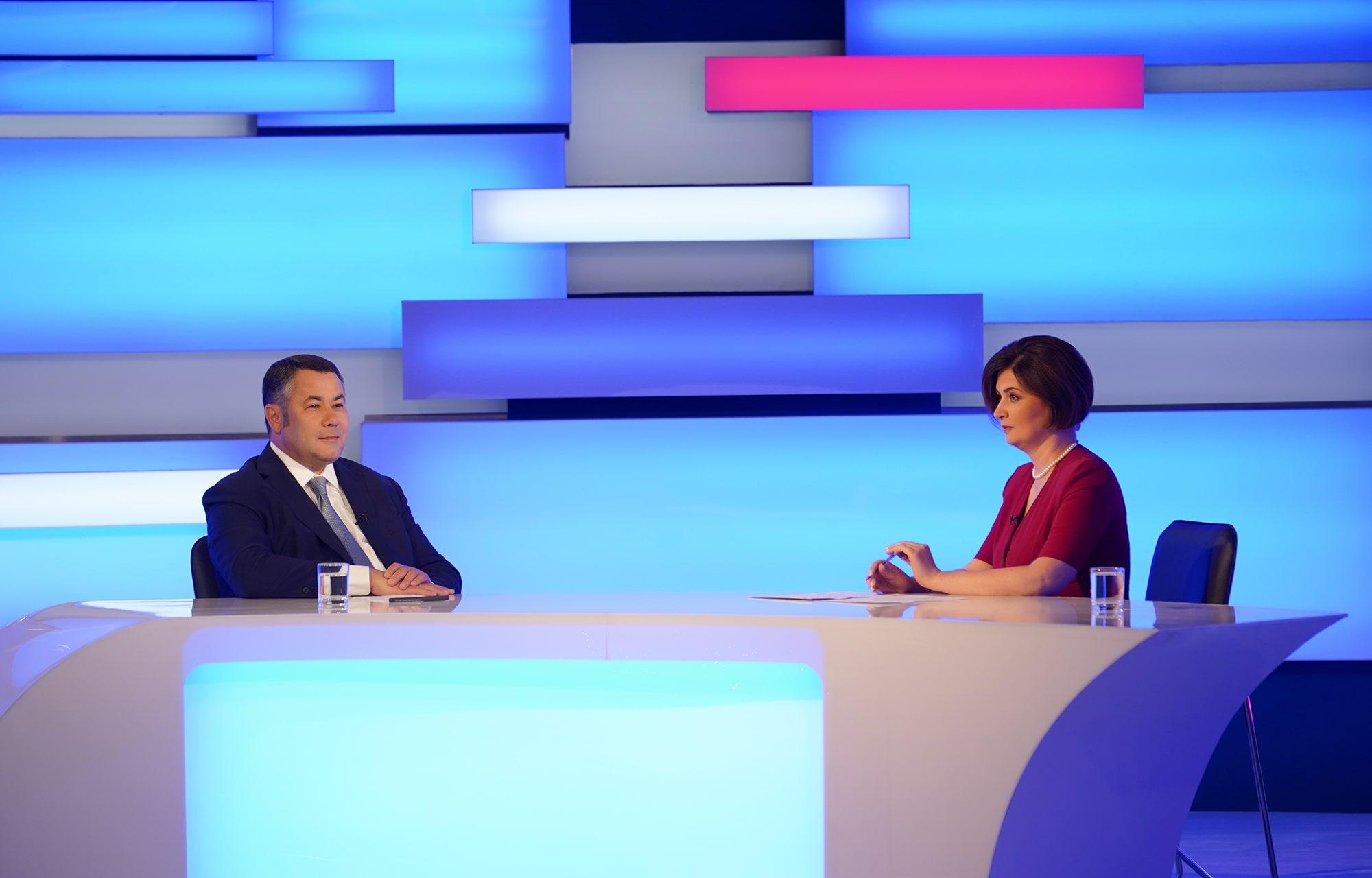 Газ, дороги, предприятия: Игорь Руденя ответит на вопросы жителей Тверской области