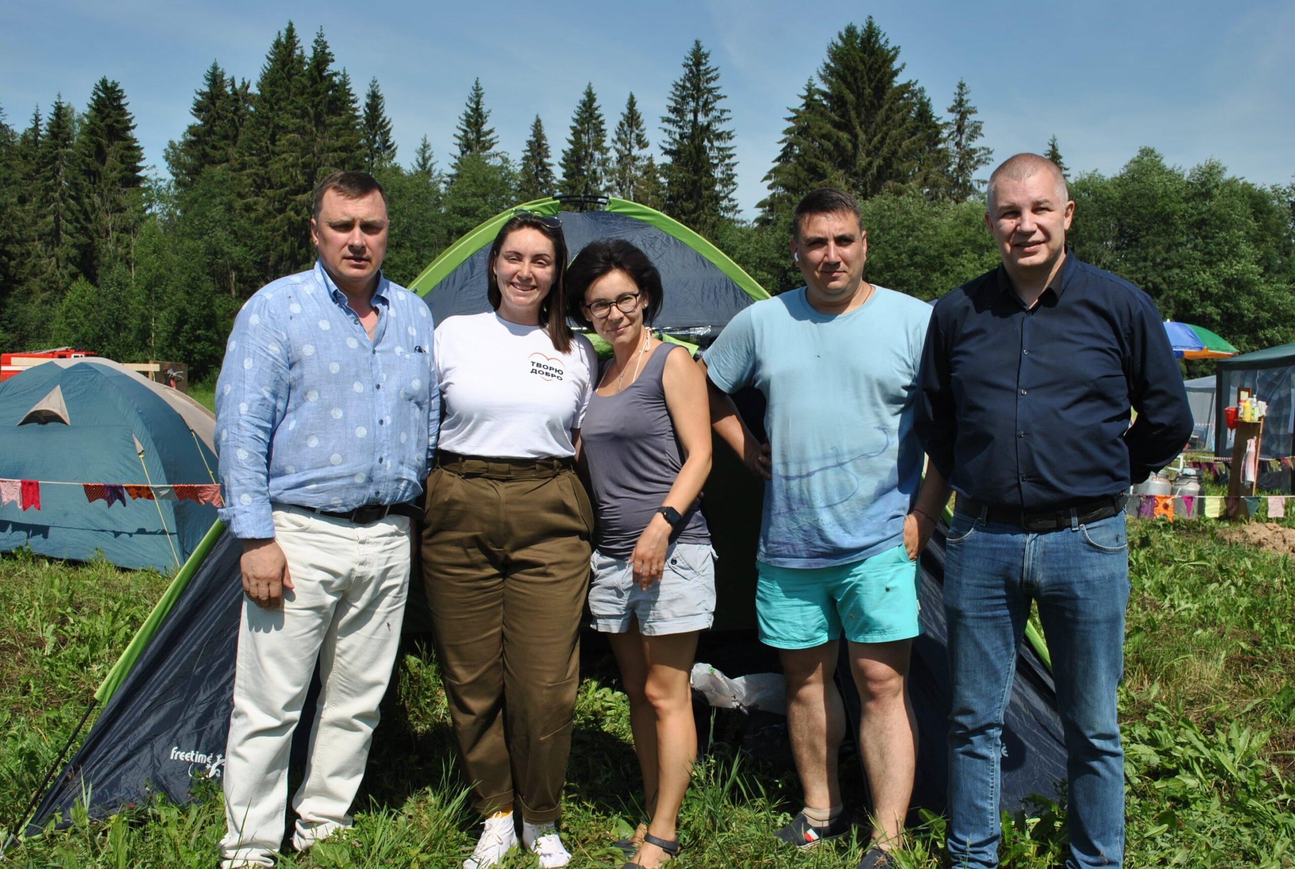 Юлия Саранова приехала на праздник спорта и здорового образа жизни в Тверской области
