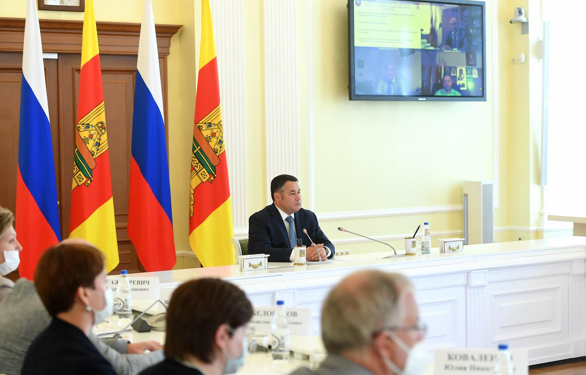 Губернатор Игорь Руденя поставил задачи по обеспечению общественной безопасности в Единый день голосования