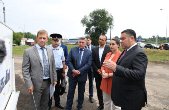 Губернатор Игорь Руденя проверил качество ремонта дорог в Твери