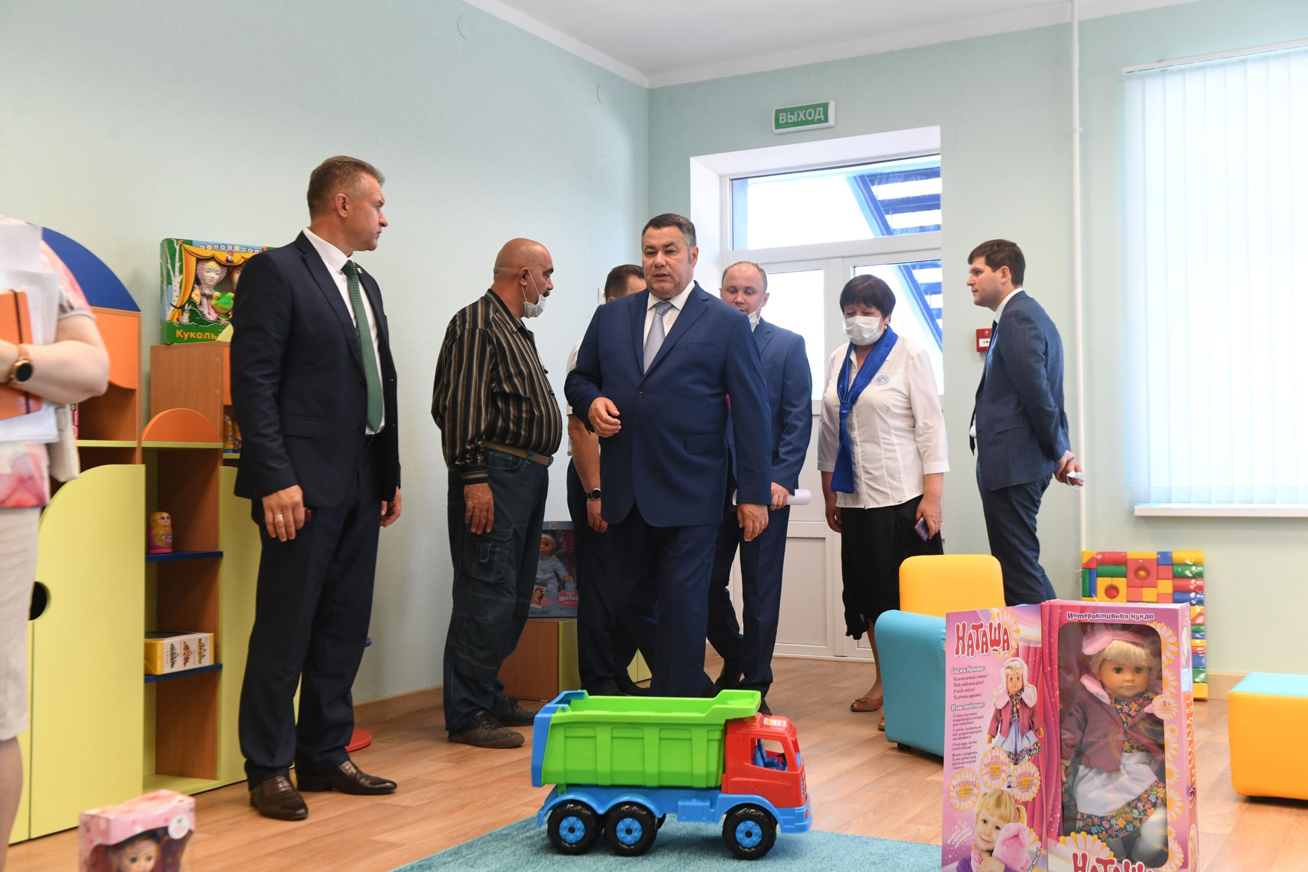 В Тверской области завершается строительство нового детского сада