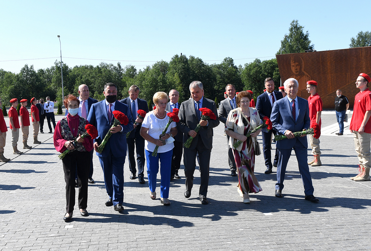 Председатель Госдумы Вячеслав Володин приехал в Тверскую область