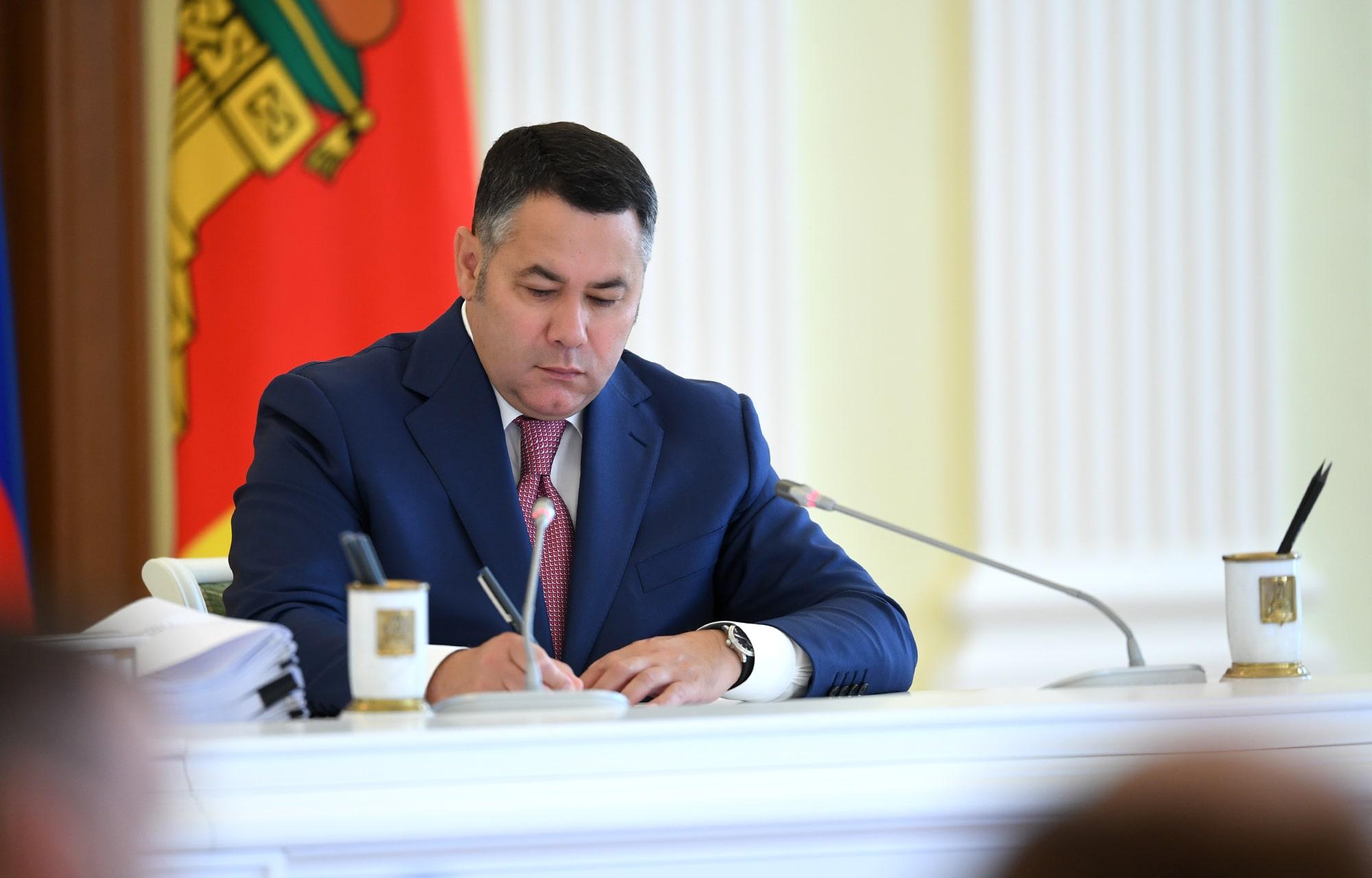 Игорь Руденя: у всех детей Тверской области должны быть современные условия для развития талантов и способностей