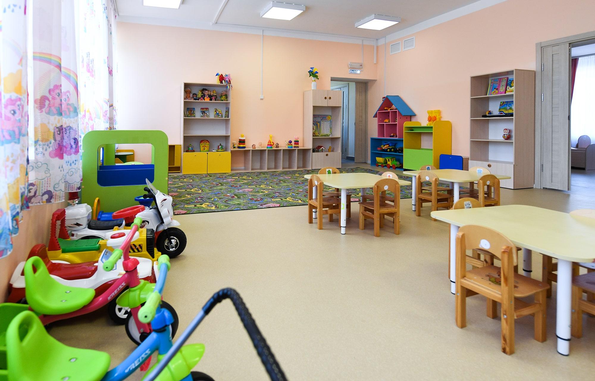 В Тверской области благоустроят территорию нового детского сада