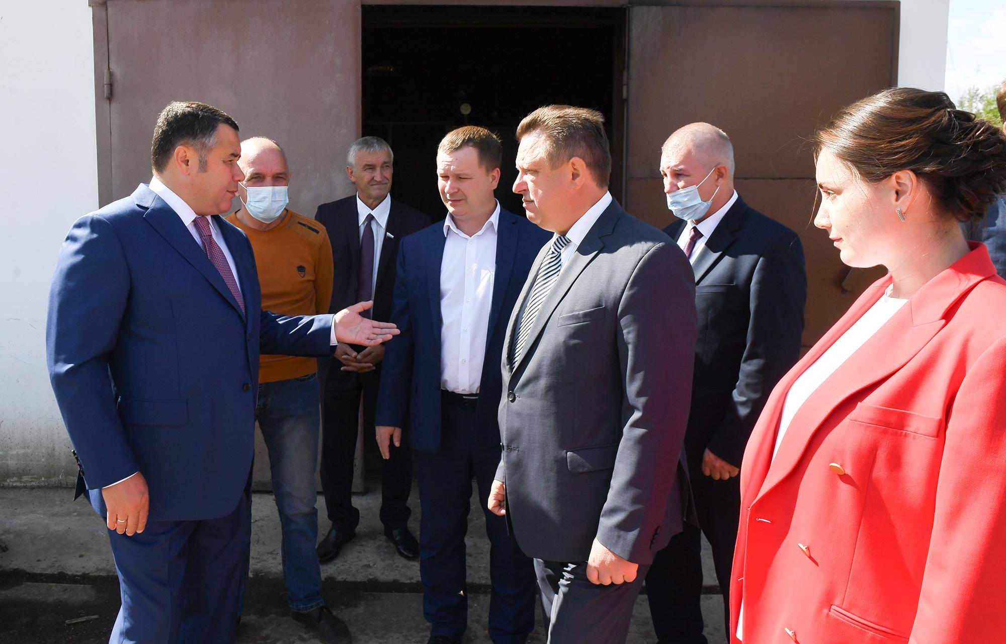 Игорь Руденя поручил газифицировать поселок Ривицкий в Тверской области