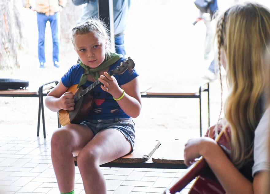 Губернатор нашел в лагере талантливых музыкантов и пригласил в Тверь