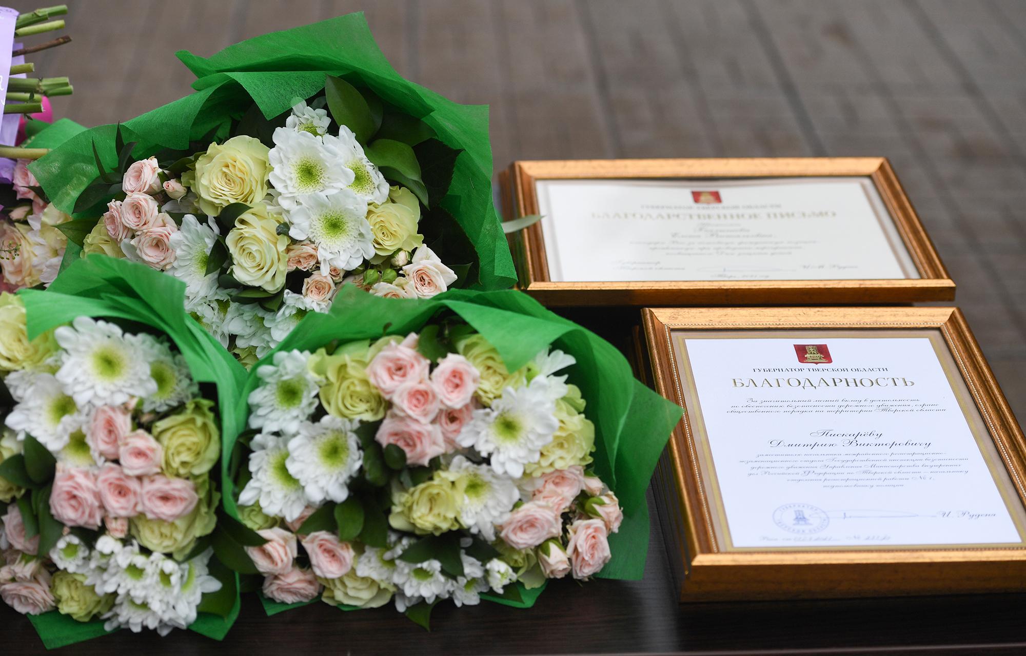 Игорь Руденя и Владимир Васильев приняли участие в торжественном мероприятии в честь 85-летия создания ГИБДД