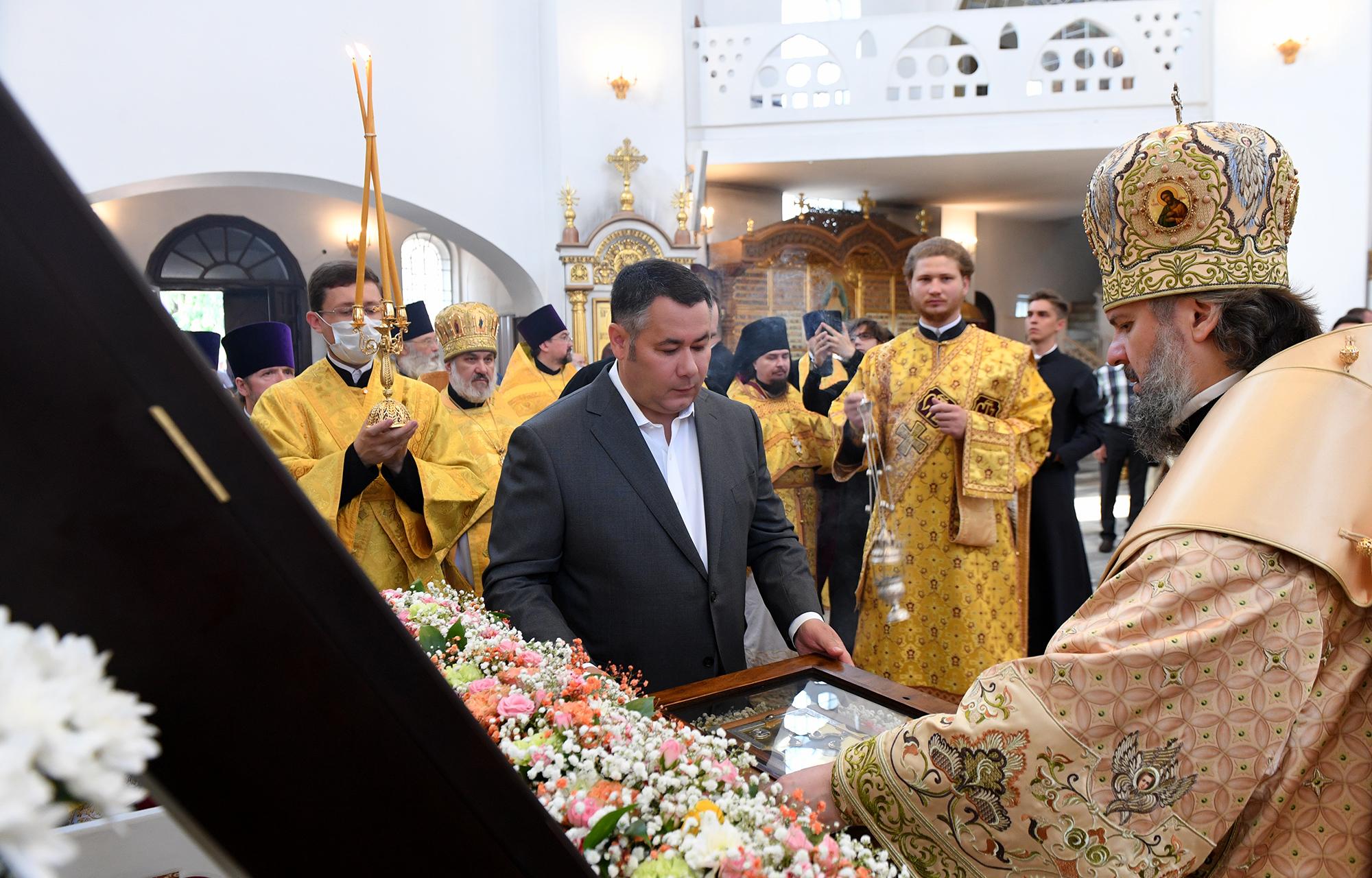 В Тверскую область прибыл ковчег с мощами князя Александра Невского
