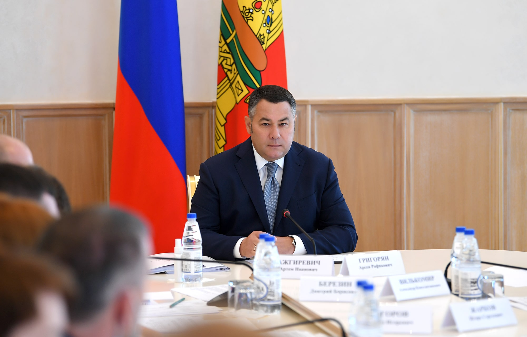 Губернатор поручил круглосуточно контролировать пожароопасную обстановку в Тверской области