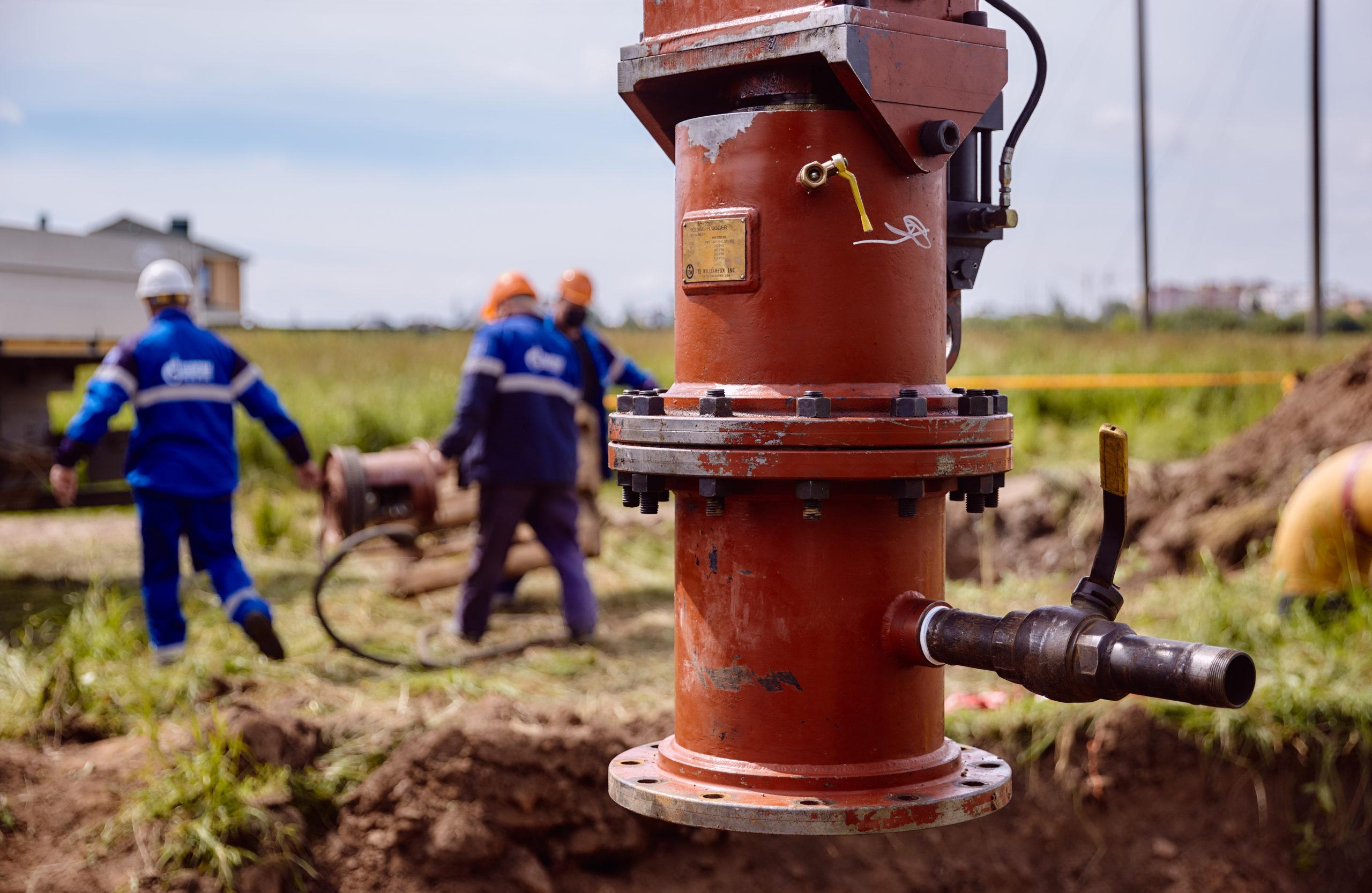 В 2021 году в Тверской области планируется построить 183 километра газовых сетей