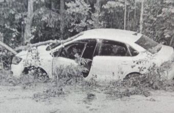 18-летний парень угнал и разбил иномарку своей крестной в Тверской области